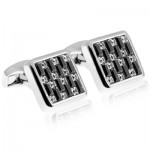 Luxury cufflinks with creative flair