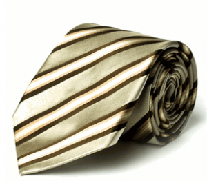 Cream Silk, Italian Silk Neck Tie by Daniel Dolce