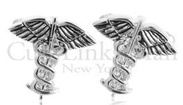 Caduceus Medical Cufflinks, CLM