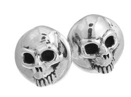 Silver Grimm Reaper Cufflinks
