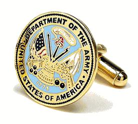 Army Cufflinks