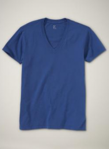 The new deep v-neck T see additional colors Rated 4 stars Based on 58 ratings  Our Ts are better than ever. We've redesigned them to be softer, more saturated, longer-lasting color, and necklines that keep their shape wash after wash.