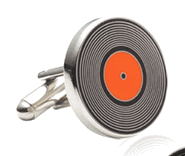 Old 45 Record Cufflinks