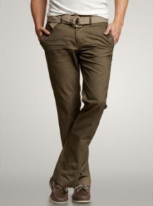 1969 denim-washed khaki (slim fit) from The Gap, $59