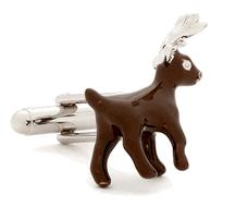 Enamel Reindeer Cufflinks