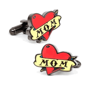 Mom Tattoo Cufflinks