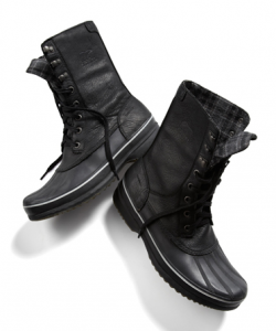 Sorel Black Snow Boot