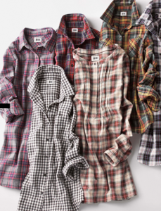 Uniqlo Plaid Flannel Shirts, $19-$29