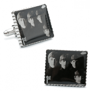 Beatles Album Cover Stamp Cufflinks