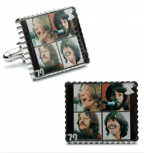 Beatles Let it Be Album Cover Stamp Cufflinks