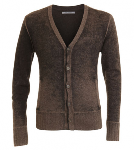 Distressed Cardigan by John Varvatos ($299 on sale at Barneys)