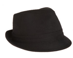 Short Brim Fedora from Barneys