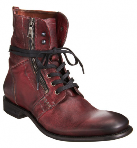 John Varvatos Zip Combat Boot $349.00 SALE