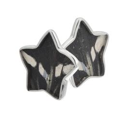Aymara Zebra Star Butterfly Cufflinks
