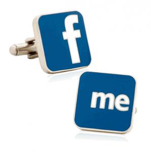 Facebook Me Cufflinks