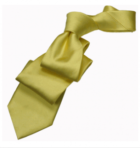 Golden Rod Silk Tie