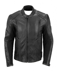 Big & Tall Street Legal Leather Padded Cycle Jacket w/ Zip-Out Liner, Wilsons Leather
