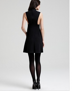 Theory Ablana Sleeveless Ponte Dress Orig $315.00 Sale $78.75