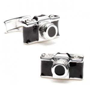Sterling Camera Cufflinks