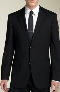 BOSS Black 'Pasolini/Movie' Black Super 100's Wool Suit