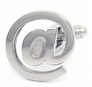 Email Sign Cufflinks