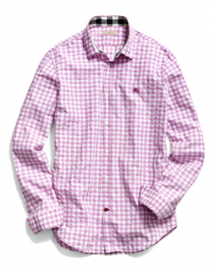 Burberry Cotton Gingham Shirt