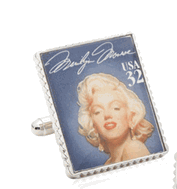 Marilyn Monroe Stamp Cufflinks