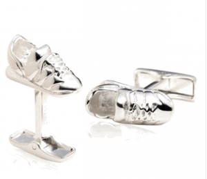 Running Shoes Cufflinks
