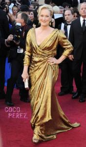 Meryl Streep at 2012 Oscars
