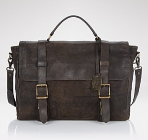 "Frye ""Logan"" Flap Briefcase PRICE: $478.00"