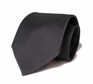 Grey magador Italian Cotton Silk Tie, Daniel Dolce