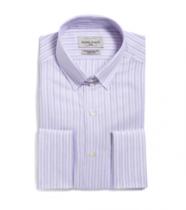 Blue Purple Collared Shirt (Christian) by CLM