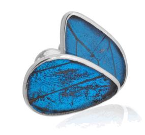 Aymara Blue Dream Butterfly Cufflinks