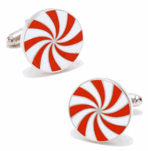 Red Starlight Mint Cufflinks