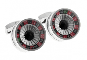 tateossian roulette cufflinks