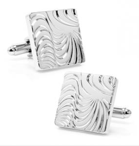 Silver Hypnotic Cufflinks