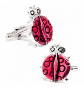Lucky Ladybug Cufflinks