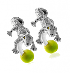 Tateossian Animal Gecko Cufflinks