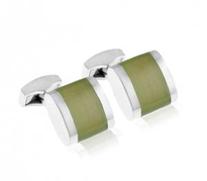 Tateossian Freeway Green Cufflinks