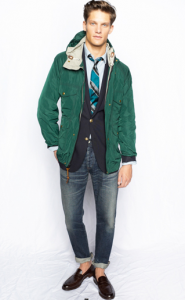 JCrew Parka for Spring 2012