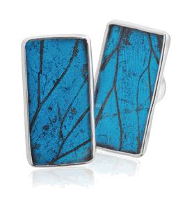 Aymara Blue Forest Cufflinks