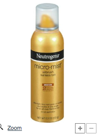 Neutrogena's Mist Tanning Spray