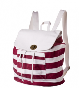 Mossimo Supply Co. Red Stripe Washed Backpack