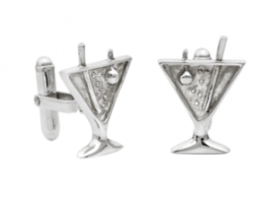 Martini Glass Cufflinks