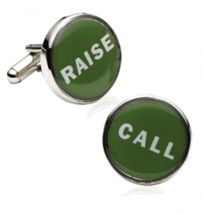Poker Decisions Cufflinks
