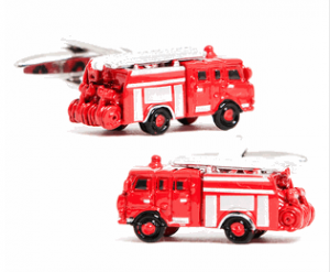 Red Fire Engine Cufflinks