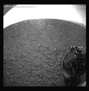 First Image of Mars (on Mars) Provided by NASA