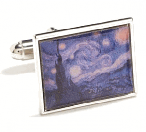 Starry Night, Van Gogh Cufflinks