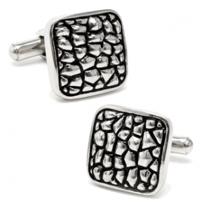 Martian's Landing, Antiqued Cufflinks
