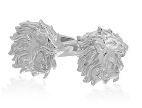 Sterling Lion King Cufflinks
